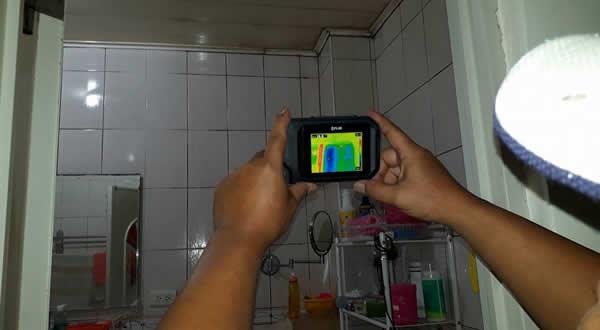 屏東浴室和天花板抓漏-儀器抓漏
