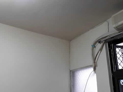 屏東長治鄉客廳抓漏-壁癌處理-陽台防水處理