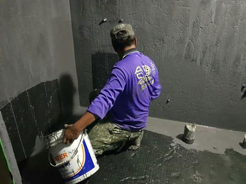 屏東防水處理-浴室打除