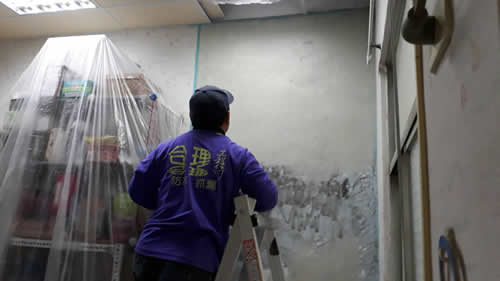 屏東市牆壁矽酸值正負水壓壁癌油漆處理