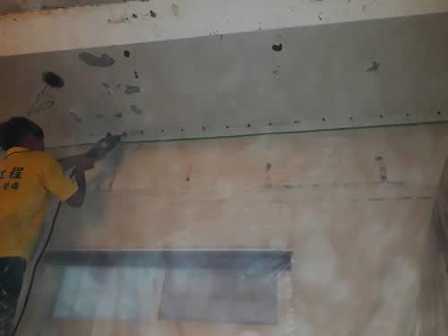 屏東市天花板防水抓漏~高壓灌注處理