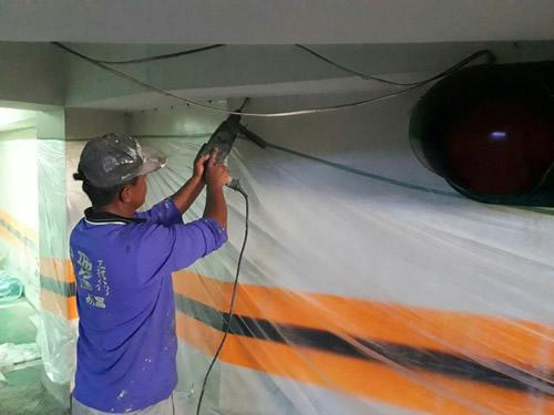 屏東地下室高壓灌注-結構補強處理