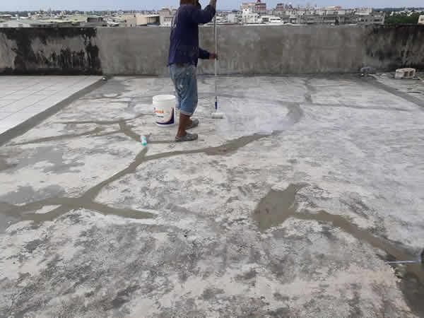 屏東市頂樓防水防熱處理