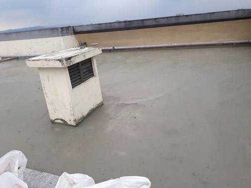 屏東防水處理-頂樓地板打除